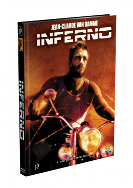 INFERNO (Jean-Claude Van Damme) - 2-Disc Mediabook Cover B (Blu-ray + DVD) Limited 66 Edition - Uncut
