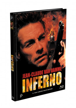 INFERNO (Jean-Claude Van Damme) - 2-Disc Mediabook Cover C (Blu-ray + DVD) Limited 66 Edition - Uncut