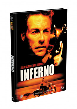INFERNO (Jean-Claude Van Damme) - 2-Disc Mediabook Cover D (Blu-ray + DVD) Limited 66 Edition - Uncut