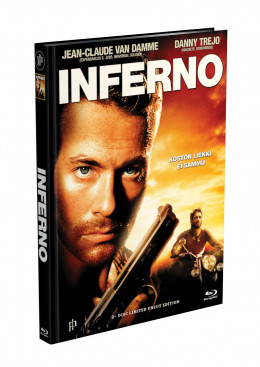 INFERNO (Jean-Claude Van Damme) - 2-Disc Mediabook Cover E (Blu-ray + DVD) Limited 66 Edition - Uncut