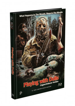 PLAYING WITH DOLLS 1 - 2-Disc Mediabook Cover A [Blu-ray + DVD] Limited 500 Edition - Uncut