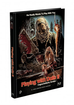 PLAYING WITH DOLLS 2 - 2-Disc Mediabook Cover A [Blu-ray + DVD] Limited 500 Edition - Uncut