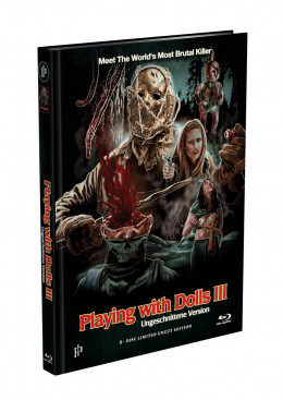 PLAYING WITH DOLLS 3 - Havoc - 2-Disc Mediabook Cover A [Blu-ray + DVD] Limited 500 Edition - Uncut