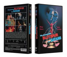DIE GRAUENVOLLE BLUTSPUR DES SATANS - VideoCase Retro Edition Cover A - Limited 50 [DVD] Uncut