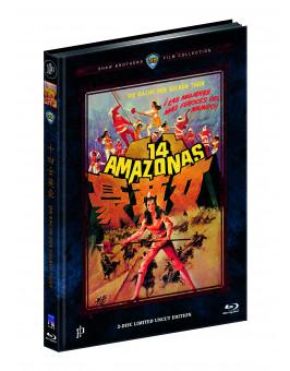RACHE DER GELBEN TIGER, DIE (Blu-Ray+DVD) (2Discs) - Cover A - Mediabook - Limited 222 Edition
