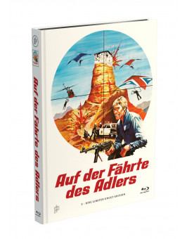 AUF DER FÄHRTE DES ADLERS - 2-Disc Mediabook Cover A [Blu-ray + DVD] Limited 50 Edition - Uncut