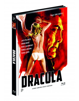 DRACULA (1974) (Blu-ray + DVD) - Cover A - Mediabook - Limited 111 Edition - UNCUT