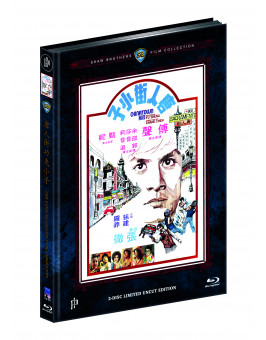 DER KUNG FU-FIGHTER VON CHINATOWN - CHINATOWN KID (Blu-ray + DVD) - Cover D - Mediabook - Limited 111 Edition - Uncut (Shaw Brothers)