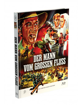 DER MANN VOM GROSSEN FLUSS - 2-Disc Mediabook Cover A [Blu-ray + DVD] Limited 50 Edition - Uncut