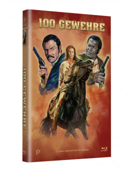 "Hollywood Classic Hartbox Collection ""100 GEWEHRE""  - Grosse Hartbox Cover A [Blu-ray] Limited 50 Edition - Uncut"