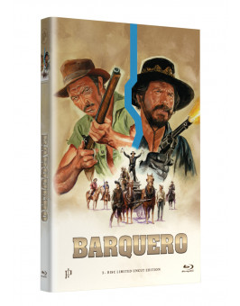 "Hollywood Classic Hartbox Collection ""BARQUERO"" - Grosse Hartbox Cover A [Blu-ray] Limited 50 Edition - Uncut"