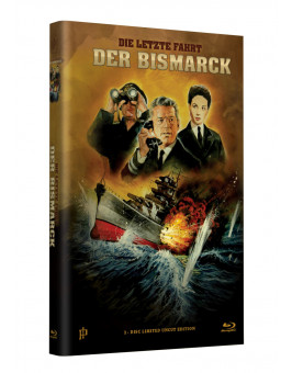 "Hollywood Classic Hartbox Collection ""DIE LETZTE FAHRT DER BISMARCK"" - Grosse Hartbox Cover A [Blu-ray] Limited 50 Edition - Uncut"