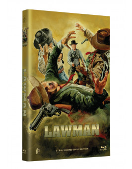 "Hollywood Classic Hartbox Collection ""LAWMAN"" - Grosse Hartbox Cover A [Blu-ray] Limited 50 Edition - Uncut"