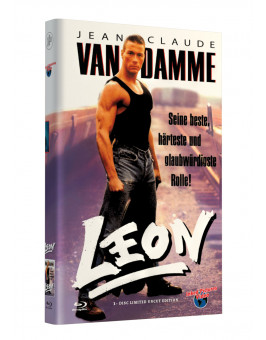 LEON (van Damme) - Grosse Hartbox Cover A [Blu-ray] Limited 33 Edition - Uncut