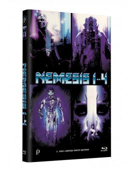 NEMESIS 1-4 - Grosse Hartbox Cover A [4 Filme auf 1 Blu-ray] Limited 50 Edition  - Uncut