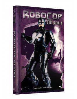ROBOCOP - The Series (Komplette Serie)  - Grosse Hartbox Cover A [Blu-ray] Limited 33 Edition - Uncut