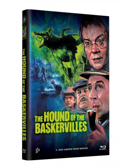SHERLOCK HOLMES - DER HUND VON BASKERVILLE - Grosse Hartbox Cover A [Blu-ray] Limited 33 Edition - Uncut