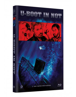 "Hollywood Classic Hartbox Collection ""U-BOOT IN NOT"" - Grosse Hartbox Cover A [Blu-ray] Limited 50 Edition - Uncut"