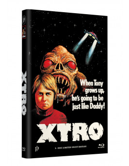 X-TRO - Nicht alle Außerirdischen sind freundlich - Grosse Hartbox Cover A [Blu-ray] Limited 33 Edition - Uncut