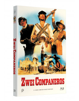 ZWEI COMPANEROS - Lasst uns töten, Companeros - Grosse Hartbox Cover A [Blu-ray] Limited 33 Edition - Uncut