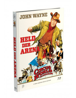 ZIRKUSWELT - Held der Arena - 2-Disc Mediabook Cover A [Blu-ray + DVD] Limited 50 Edition - Uncut