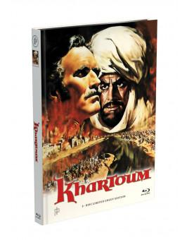 KHARTOUM - Aufstand am Nil - 2-Disc Mediabook Cover A [Blu-ray + DVD] Limited 50 Edition - Uncut