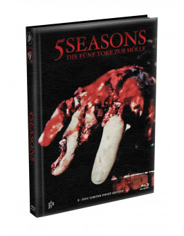 5 SEASONS - Die fünf Tore zur Hölle - 2-Disc wattiertes Mediabook - Cover P (Blu-ray + DVD) Limited 22 Edition - Uncut