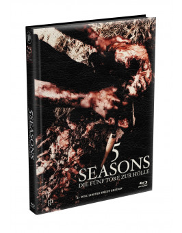 5 SEASONS - Die fünf Tore zur Hölle - 2-Disc wattiertes Mediabook - Cover Q (Blu-ray + DVD) Limited 22 Edition - Uncut