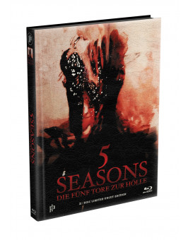 5 SEASONS - Die fünf Tore zur Hölle - 2-Disc wattiertes Mediabook - Cover S (Blu-ray + DVD) Limited 22 Edition - Uncut