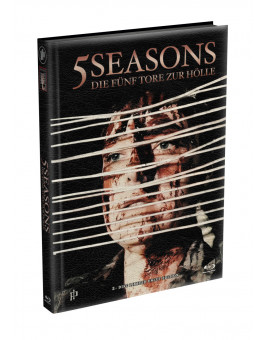 5 SEASONS - Die fünf Tore zur Hölle - 2-Disc wattiertes Mediabook - Cover W (Blu-ray + DVD) Limited 22 Edition - Uncut