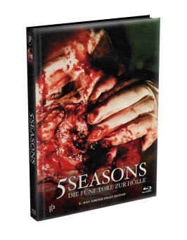5 SEASONS - Die fünf Tore zur Hölle - 2-Disc wattiertes Mediabook - Cover X (Blu-ray + DVD) Limited 22 Edition - Uncut