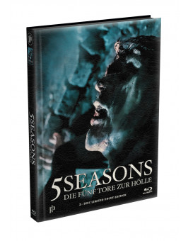 5 SEASONS - Die fünf Tore zur Hölle - 2-Disc wattiertes Mediabook - Cover Z (Blu-ray + DVD) Limited 22 Edition - Uncut