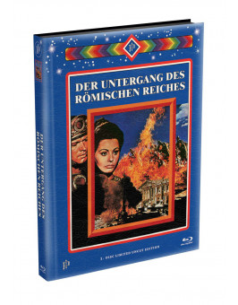 DER UNTERGANG DES RÖMISCHEN REICHES - wattiertes Mediabook Cover A [Blu-ray] Limited 128 Edition