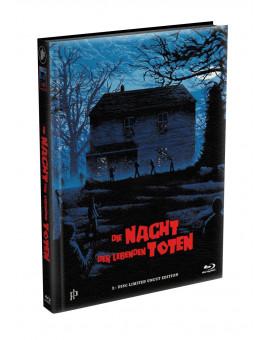 DIE NACHT DER LEBENDEN TOTEN (1968) - wattiertes Mediabook - Cover E (Blu-ray) Limited 22 Edition - Uncut