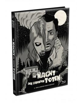 DIE NACHT DER LEBENDEN TOTEN (1968) - wattiertes Mediabook - Cover G (Blu-ray) Limited 22 Edition - Uncut