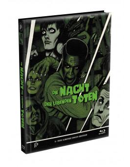 DIE NACHT DER LEBENDEN TOTEN (1968) - wattiertes Mediabook - Cover I (Blu-ray) Limited 22 Edition - Uncut