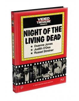 DIE NACHT DER LEBENDEN TOTEN (1968) - wattiertes Mediabook - Cover M (Blu-ray) Limited 22 Edition - Uncut