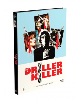 DRILLER KILLER - 2-Disc Mediabook Edition (Blu-ray + DVD) - Cover A Limited 66