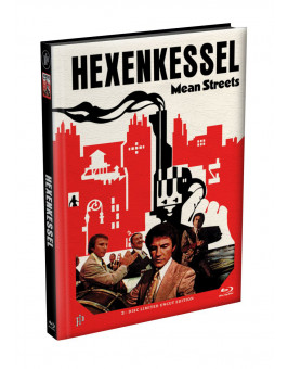 HEXENKESSEL (Mean Streets) 2-Disc wattiertes Mediabook Cover F [Blu-ray + DVD] Limited 66 Edition