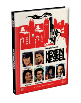 HEXENKESSEL (Mean Streets) 2-Disc wattiertes Mediabook Cover G [Blu-ray + DVD] Limited 66 Edition
