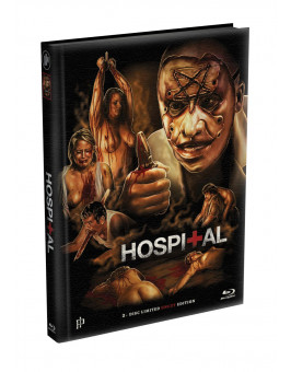 THE HOSPITAL 1 - 28 Minuten längere Version - 2-Disc wattiertes Mediabook - Cover A (Blu-ray + DVD) Limited 333 Edition - Uncut
