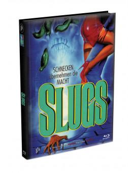SLUGS - 3-Disc wattiertes Mediabook - Cover F (Blu-ray + 2 DVD) Limited 222 Edition - Uncut