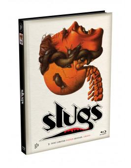 SLUGS - 3-Disc wattiertes Mediabook - Cover G (Blu-ray + 2 DVD) Limited 222 Edition - Uncut