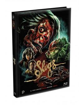 SLUGS - 3-Disc wattiertes Mediabook - Cover H (Blu-ray + 2 DVD) Limited 500 Edition - Uncut