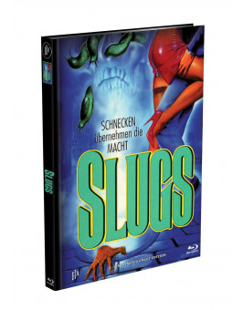 SLUGS - 3-Disc Mediabook Cover B (Blu-ray + 2xDVD) Limited 111 Edition - Uncut
