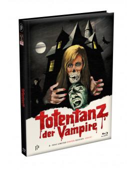 TOTENTANZ DER VAMPIRE - 2-Disc wattiertes Mediabook - Cover E (Blu-ray + DVD) Limited 333 Edition - Uncut - Poster