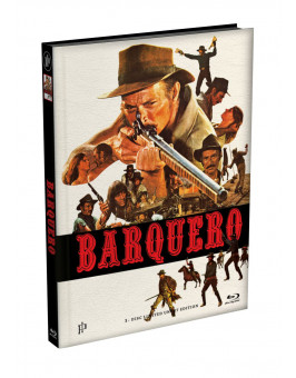 BARQUERO - Wattiertes Mediabook Cover A [Blu-ray] Limited 149 Edition