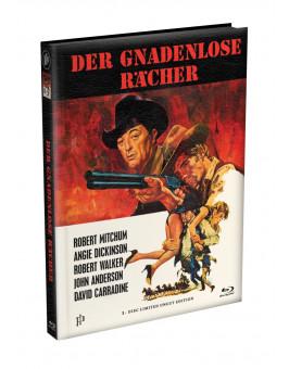 DER GNADENLOSE RÄCHER - Wattiertes Mediabook Cover A [Blu-ray] Limited 149 Edition