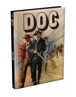 DOC - Wattiertes Mediabook Cover A [Blu-ray] Limited 149 Edition