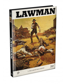 LAWMAN - Wattiertes Mediabook Cover A [Blu-ray] Limited 149 Edition